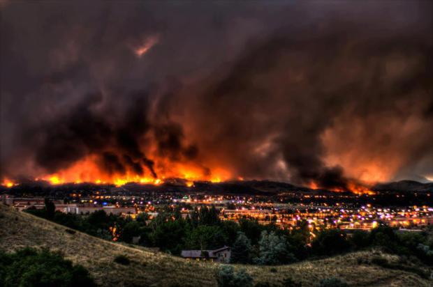 Waldo Canyon Fire : June 2012